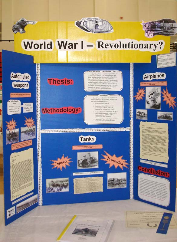 research paper for a science fair